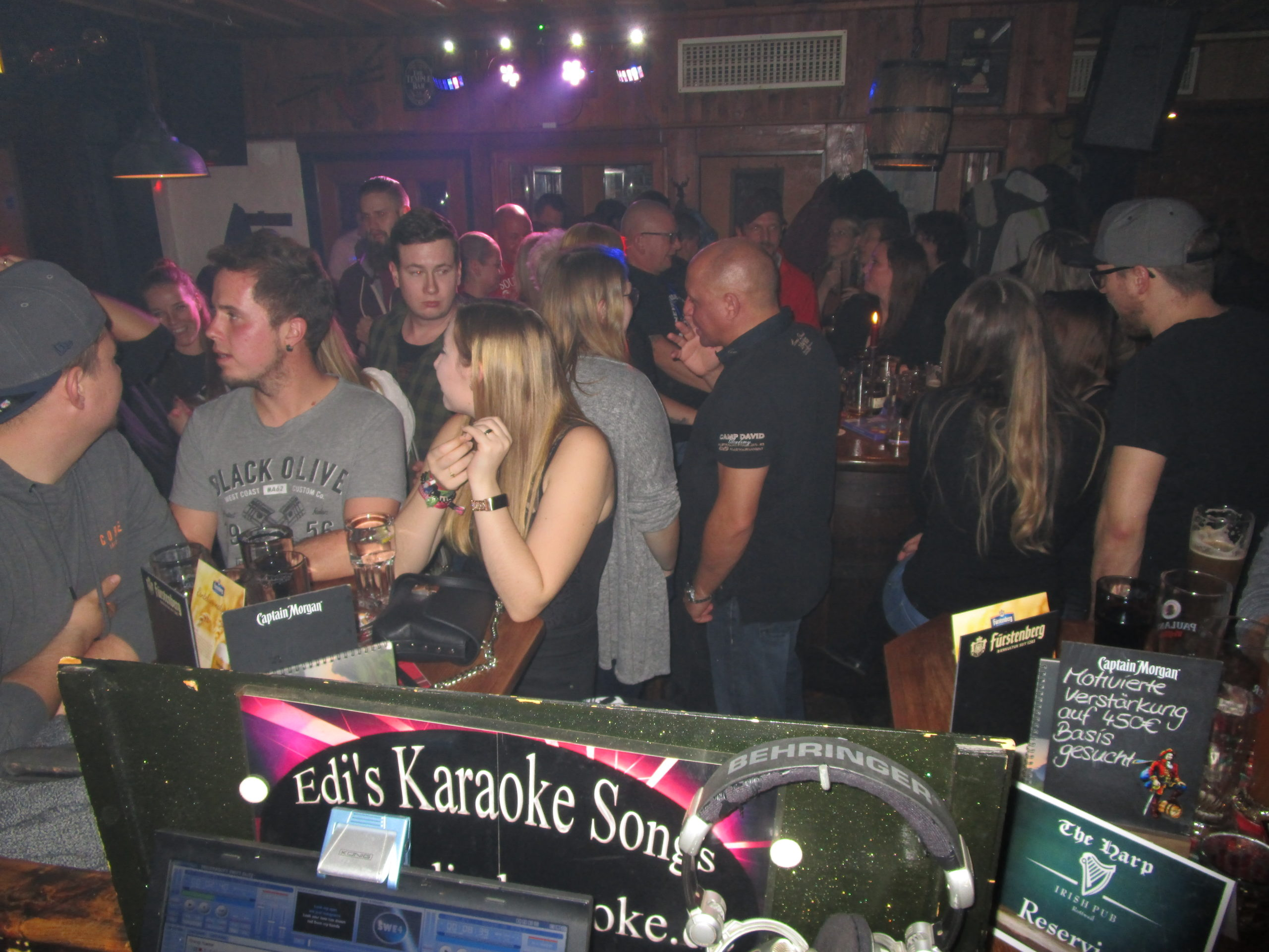 The Harp / Irish Pub, Rottweil, 15.11.2019 - Edis Karaoke