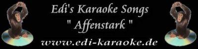 Edi's Karaoke Songs